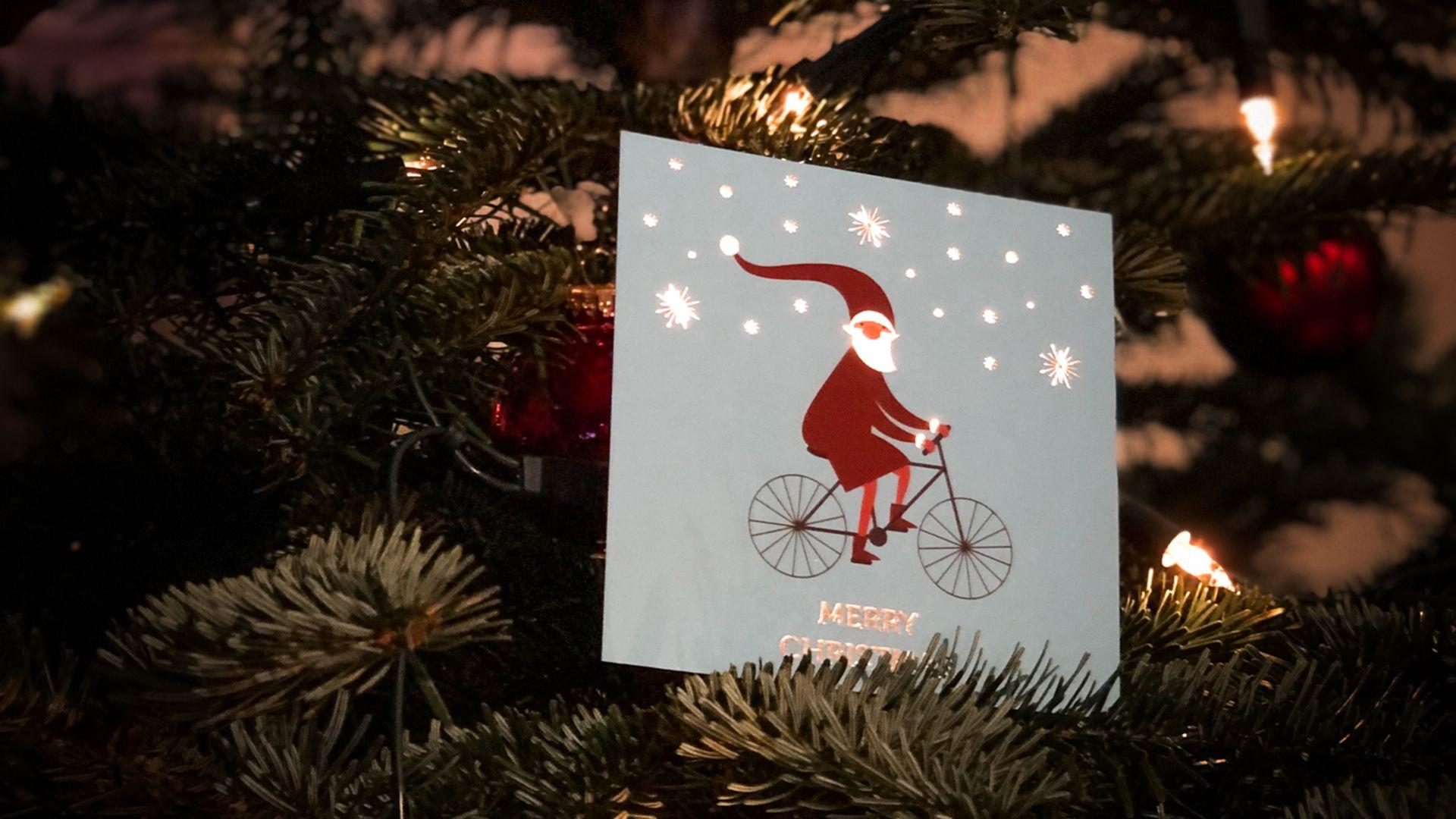 BusinessBike Weihnachtskarte