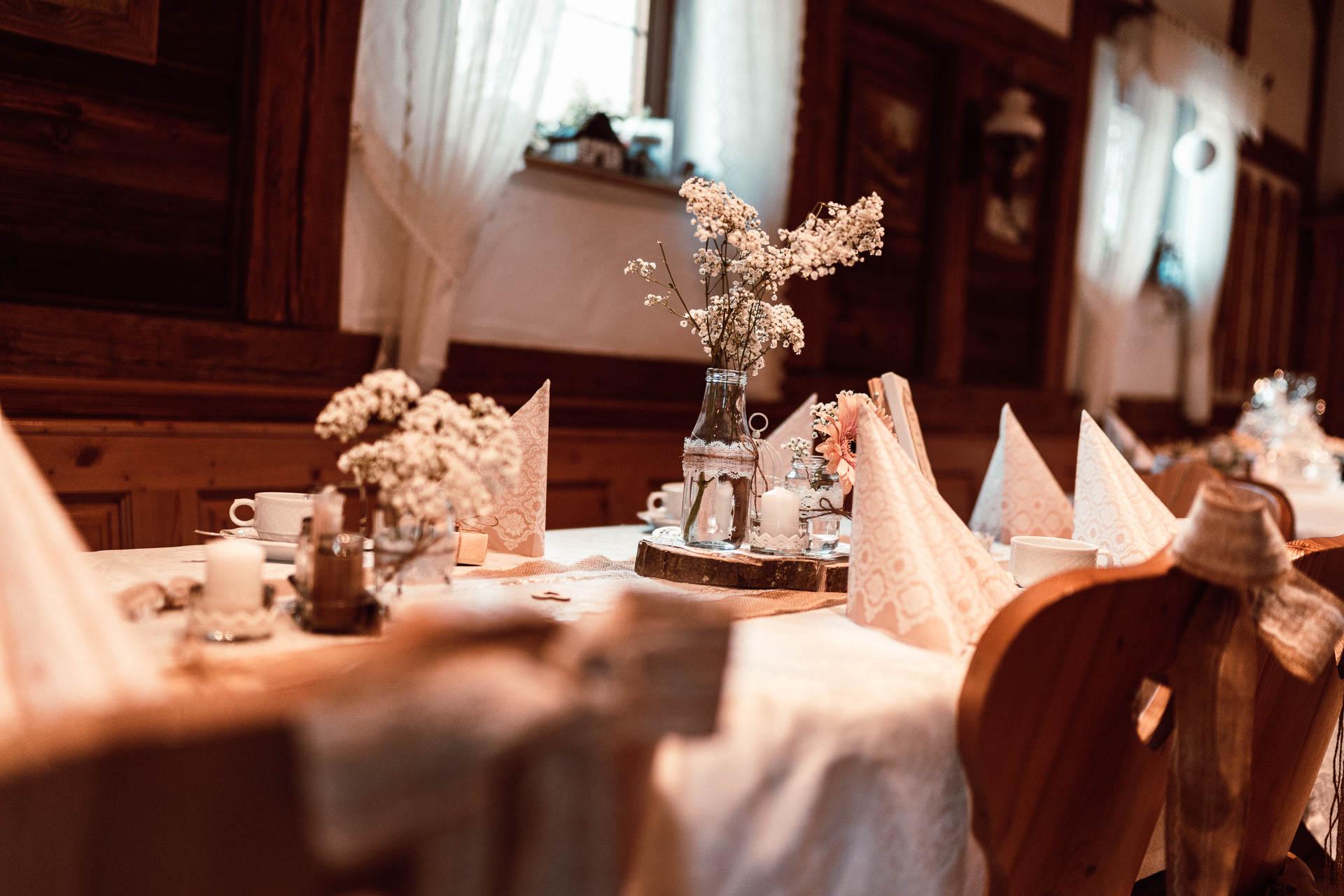 Blumenstrauß Hochzeitslocation