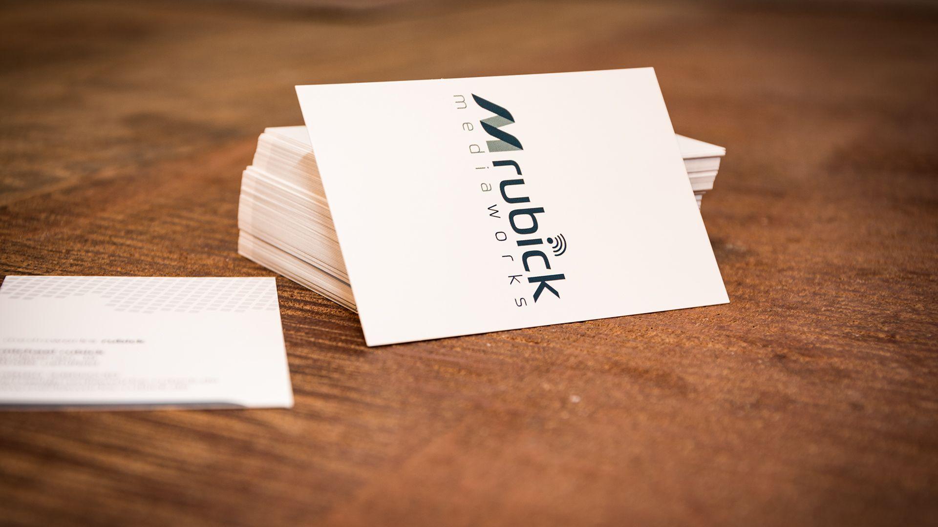 Visitenkarten Mediaworks Rubick